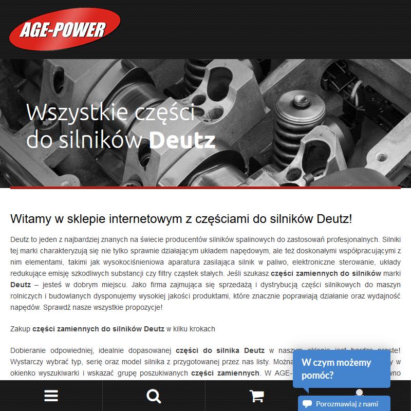 Warszawa - silnik deutz 3 cylindrowy
