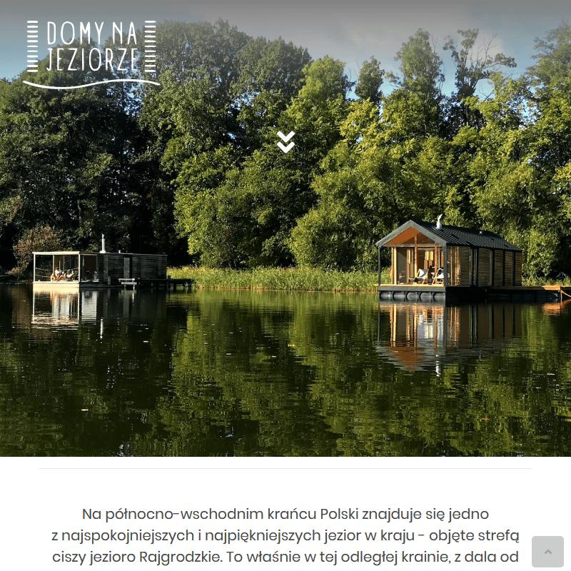 Wakacje nad jeziorem mazury - Warszawa