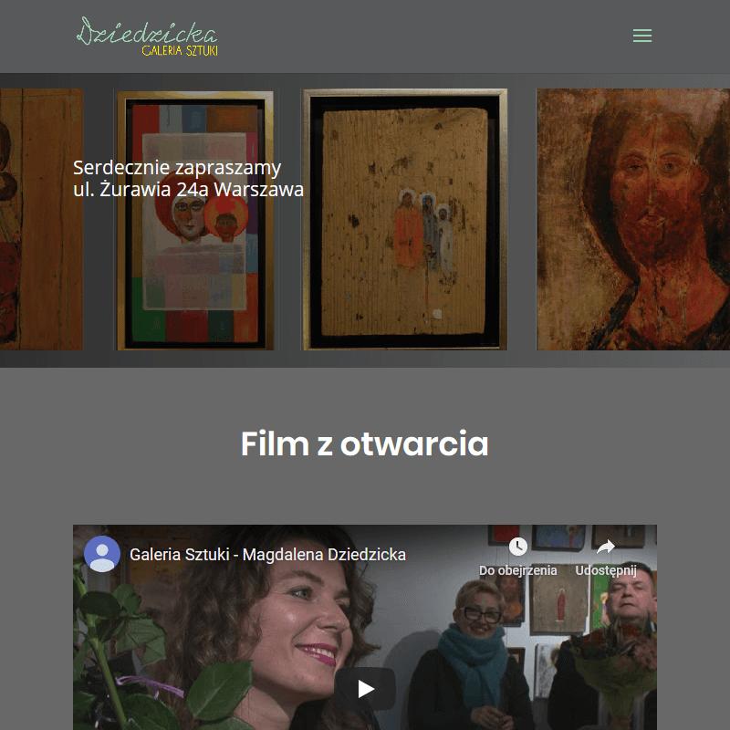 Ręcznie malowane obrazy Warszawa