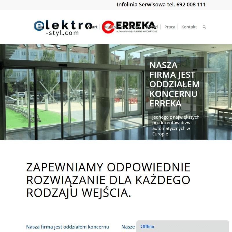 Warszawa - sprzedaż drzwi automatycznych