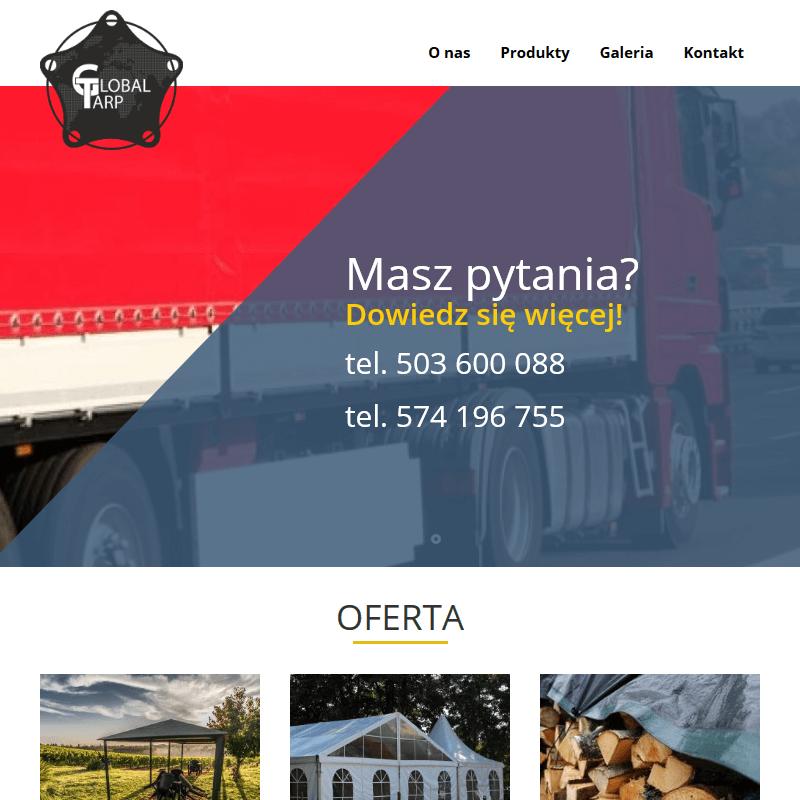 Gdańsk - plandeki zbrojone