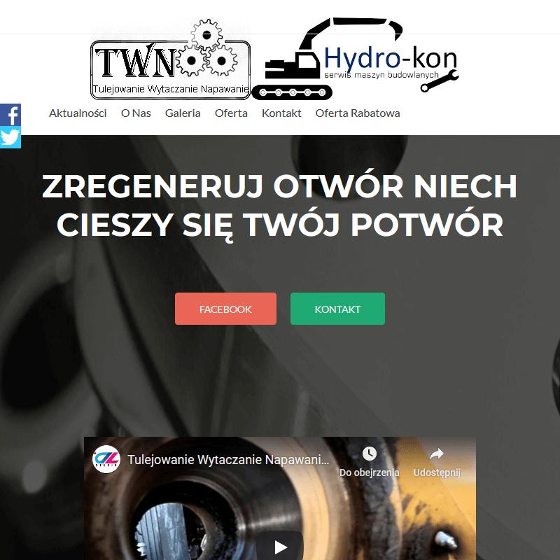 Przenośna wytaczarko napawarka - Warszawa