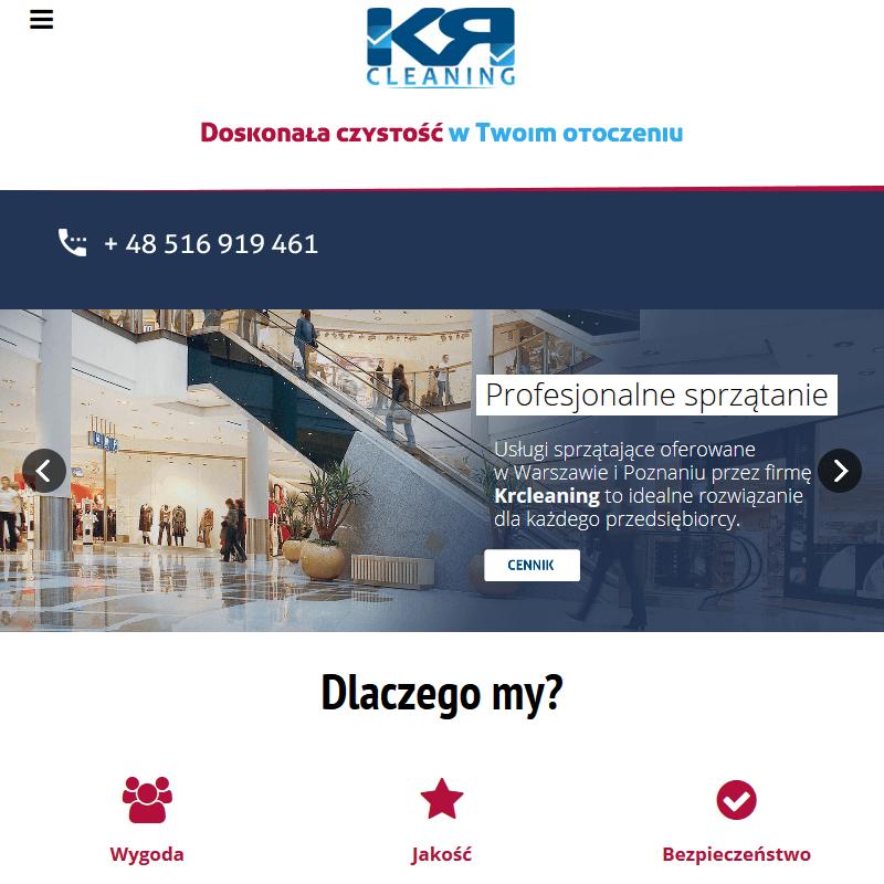 Poznań - profesjonalne usługi sprzątające dla firm