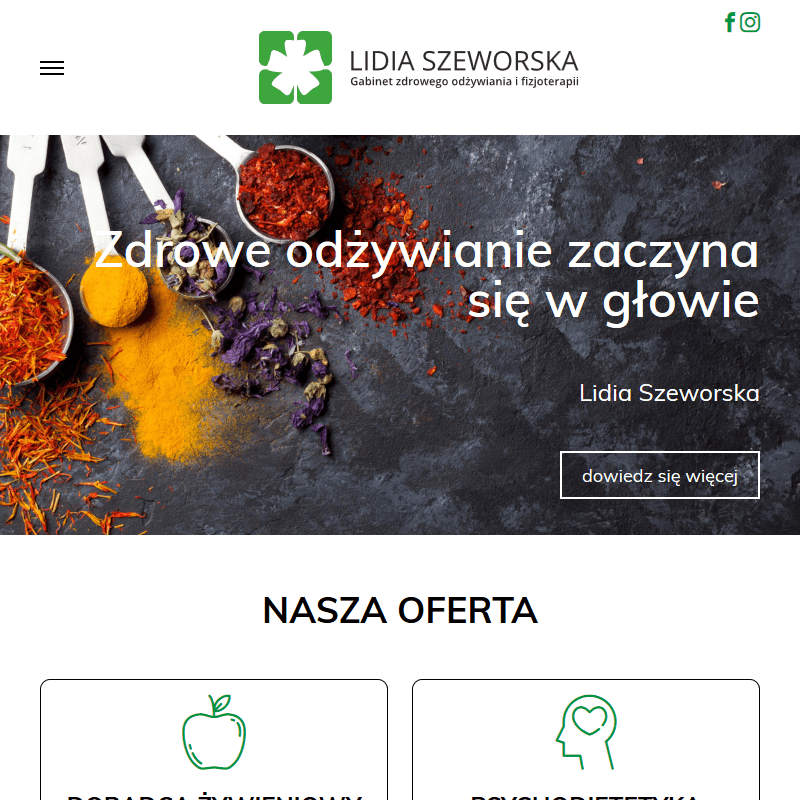 Warszawa - doradca żywienia