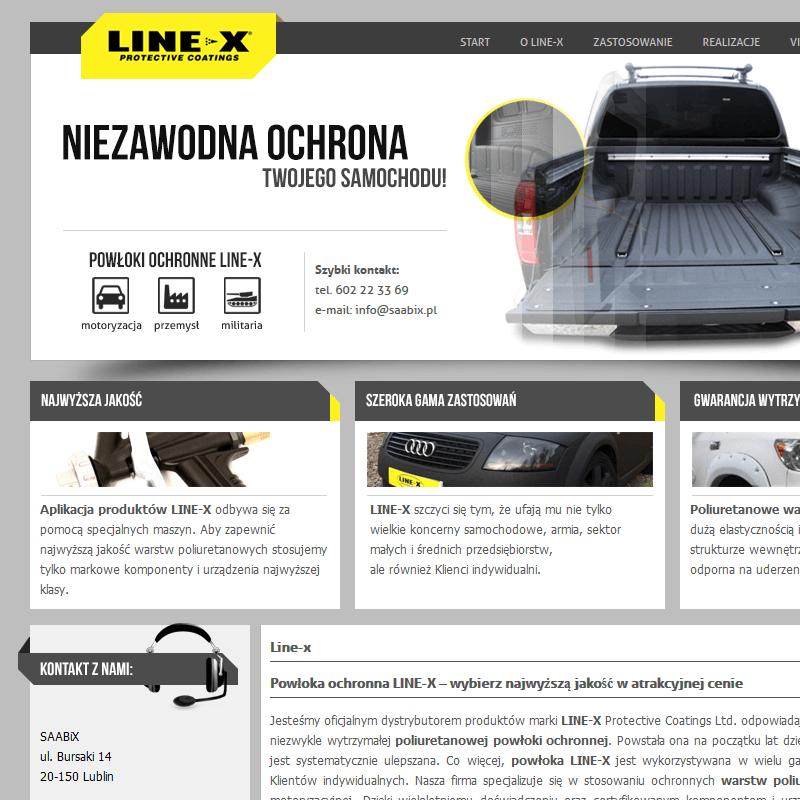 Zabezpieczenia karoserii line-x - Lublin