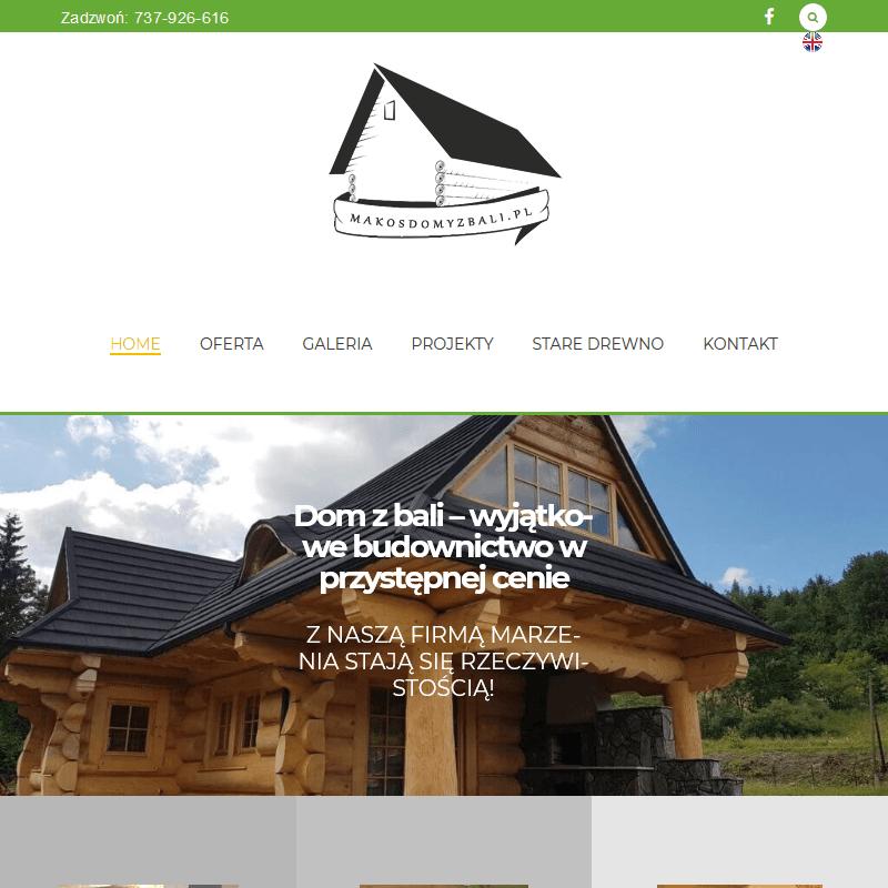 Producent domów drewnianych