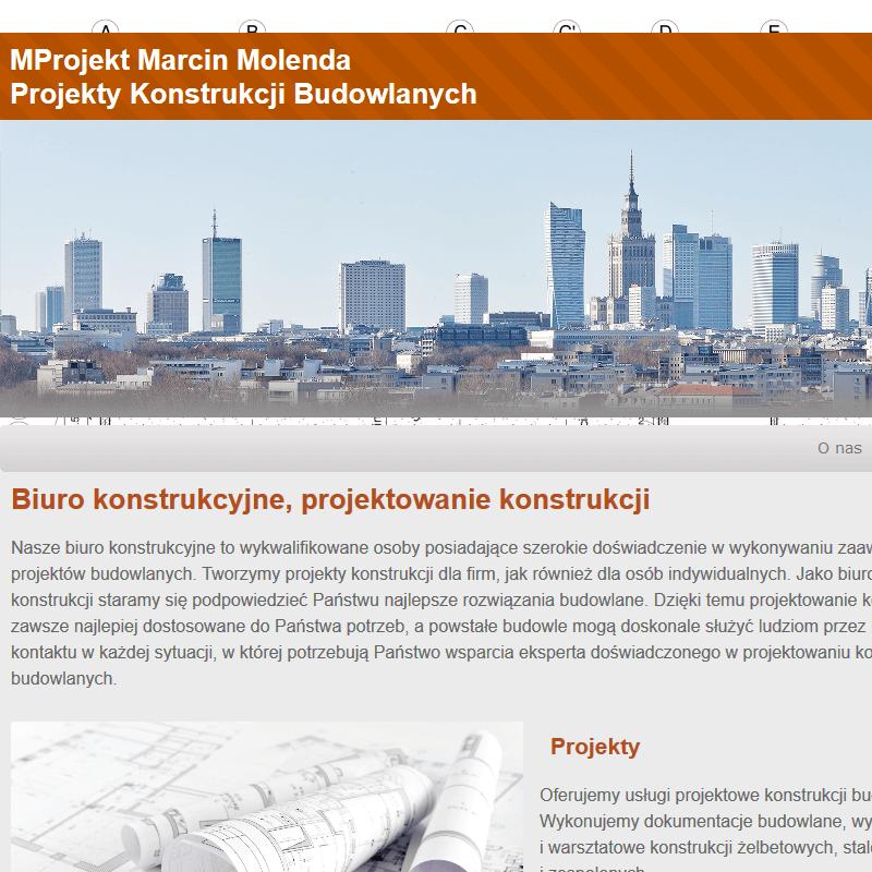 Warszawa - biuro konstrukcyjne