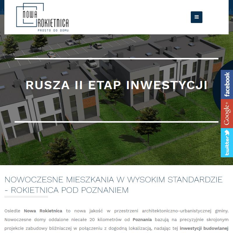Inwestycje budowlane w rokietnicy - Poznań