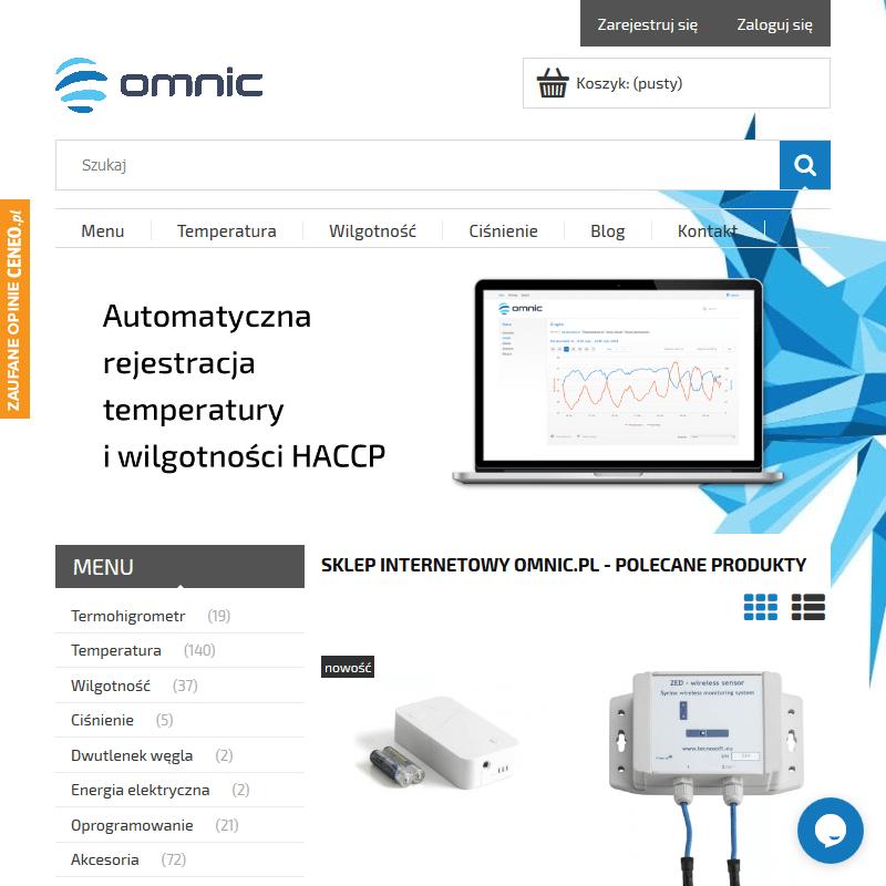 Oprogramowanie do rejestracji temperatury - Warszawa