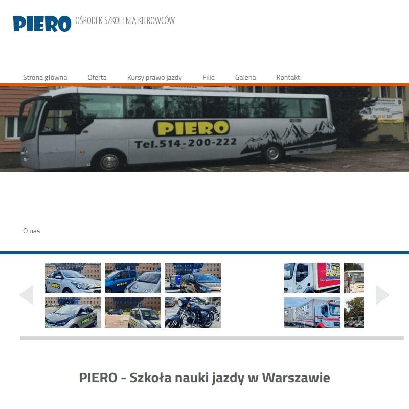 Warszawa - prawo jazdy c+e