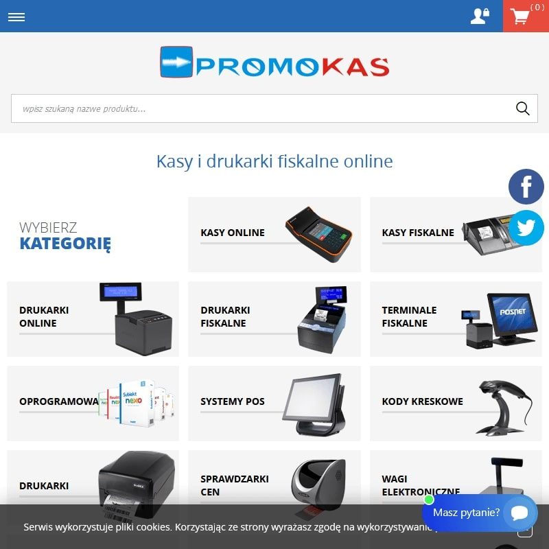 Kasy fiskalne posnet w Krakowie