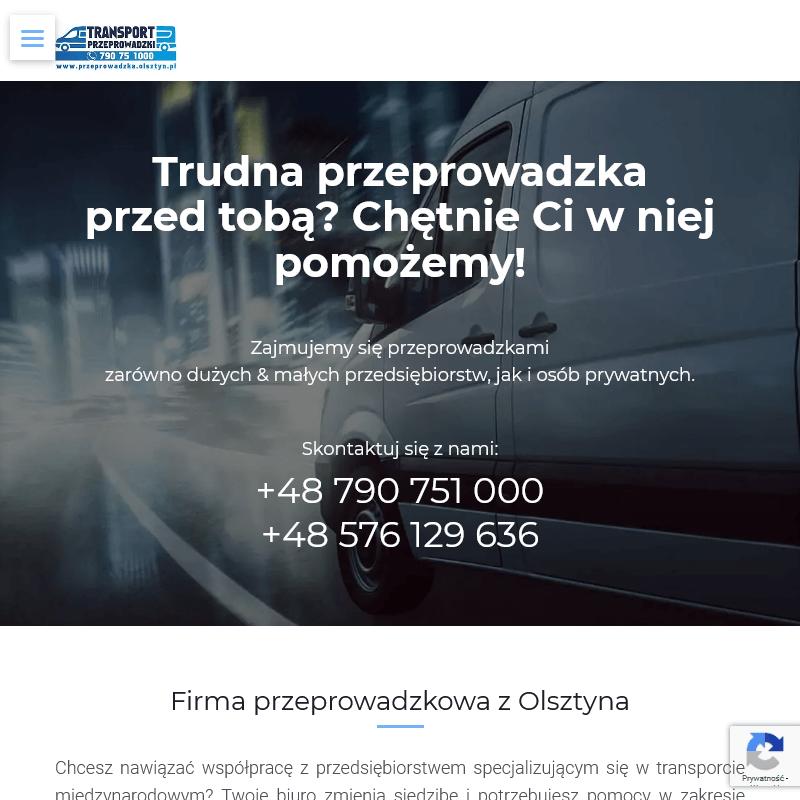 Firma przeprowadzkowa - Ostróda
