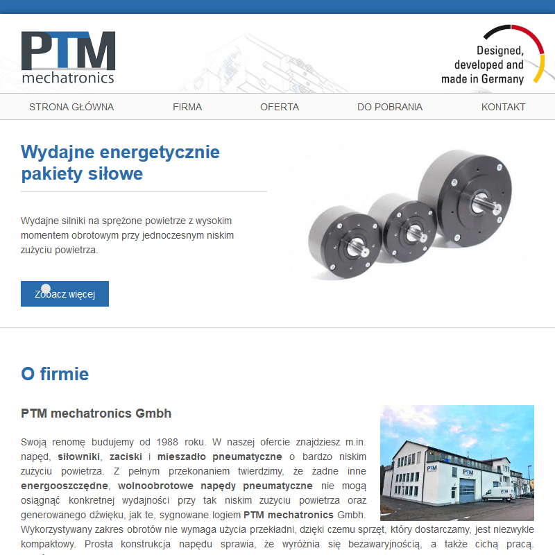 Ptm mechatronics - Poznań
