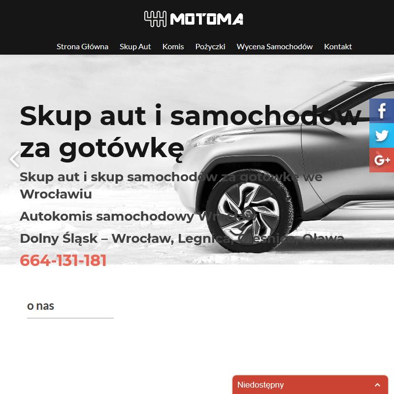 Komis samochodowy w Świdnicy