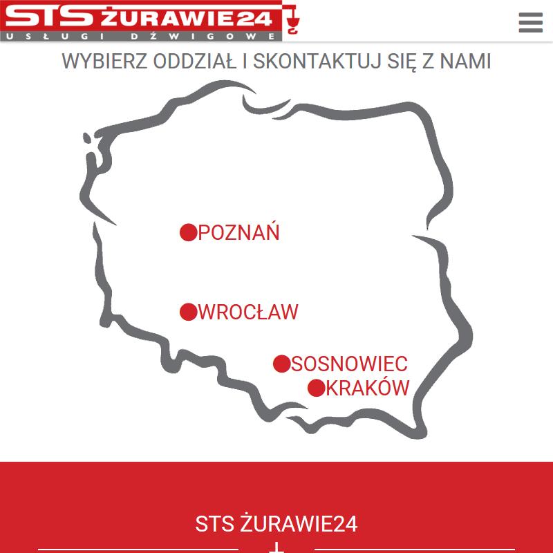 Dźwigi - Wrocław